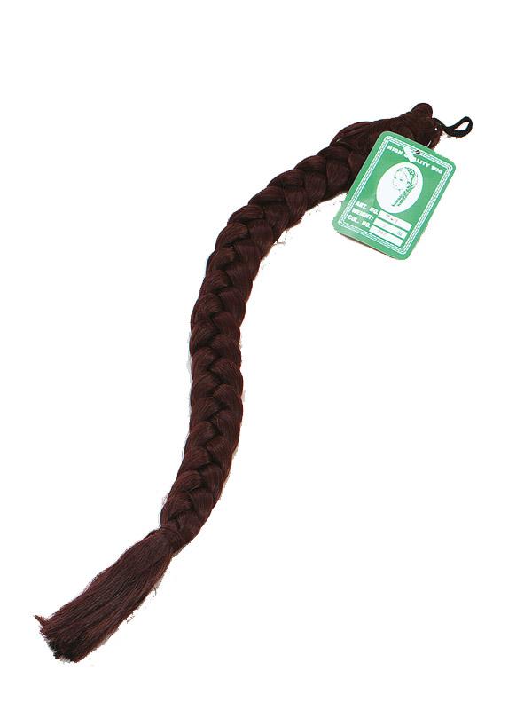 Brown Hair Plaits