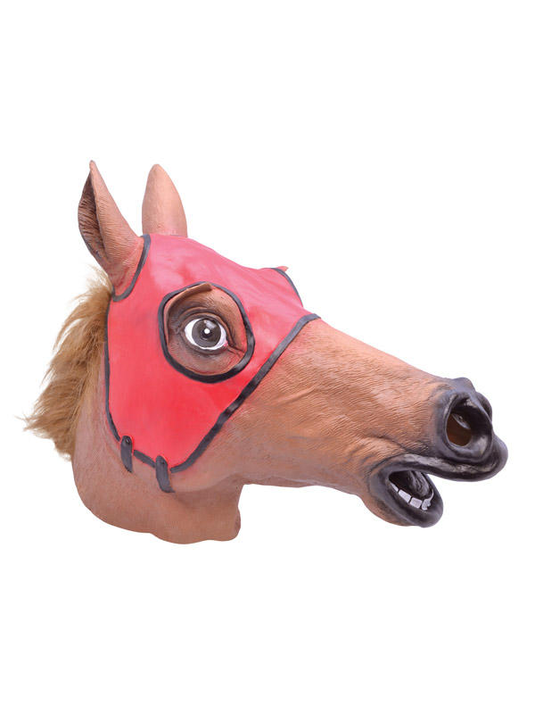 Adult Ladies Racing Horse Mask