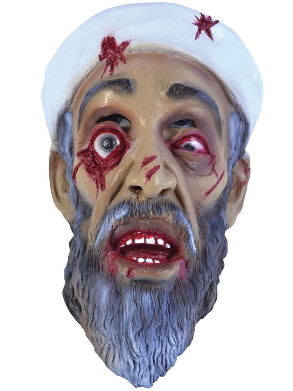Adult Zombie Bin Laden Mask