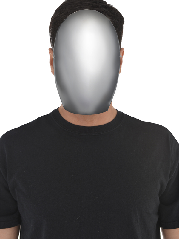 Adult Mens Faceless Mask