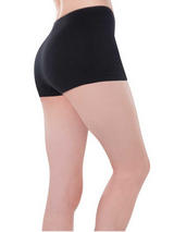Ladies Boy Shorts Black