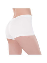 Ladies Boy Shorts White
