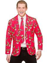 Cool Christmas Jacket & Tie Reindeer
