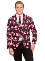 Cool Christmas Jacket & Tie Santa