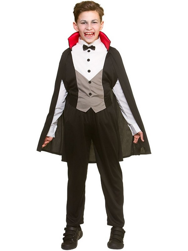 Child Boys Bloodthirsty Vampire Costume