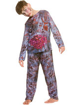Child Boys Zombie Costume