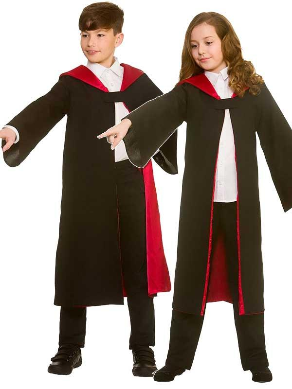 Child Deluxe Wizard Robe Costume Thumbnail 1