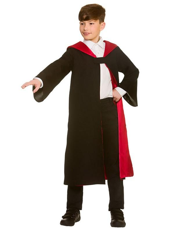 Child Deluxe Wizard Robe Costume Thumbnail 2