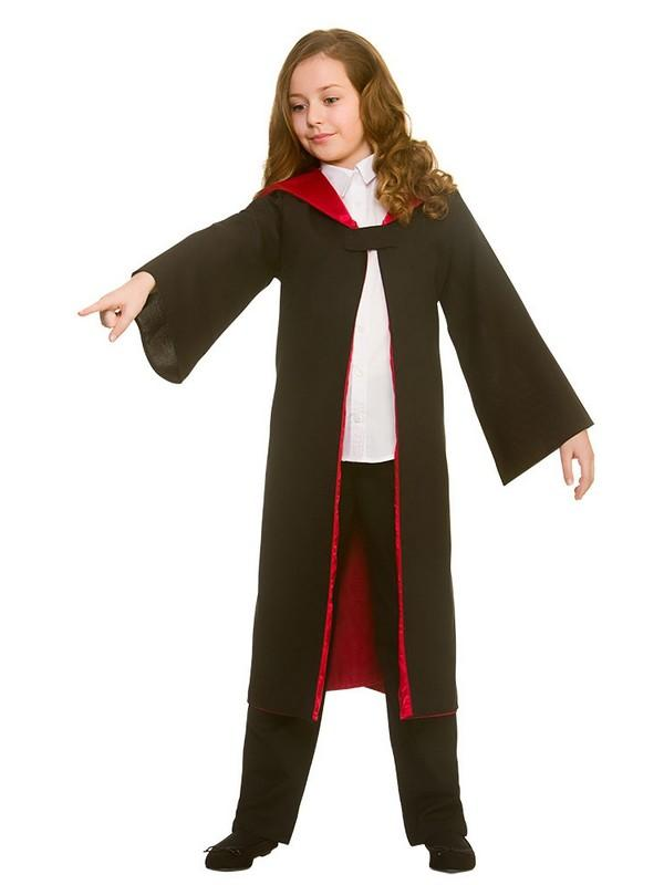 Child Deluxe Wizard Robe Costume Thumbnail 3