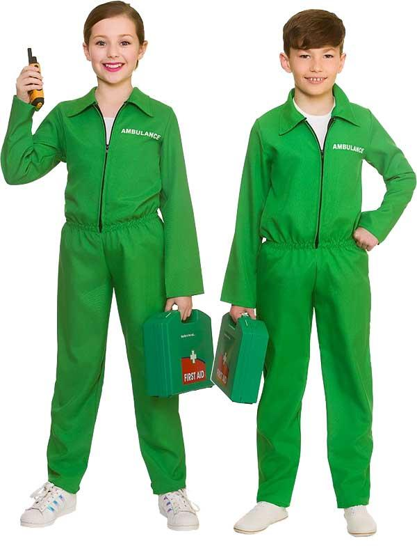 Child Paramedic Costume One Piece