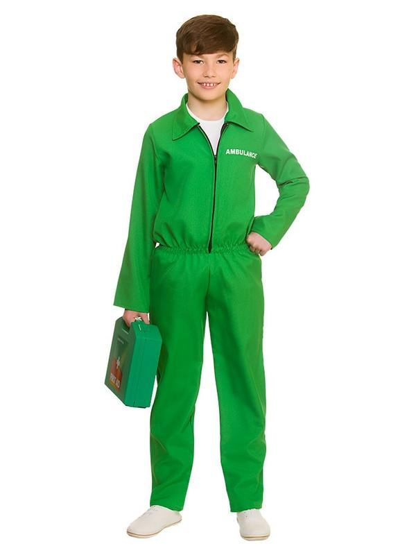 Child Paramedic Costume One Piece Thumbnail 2