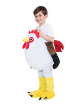 Child Step In Chicken Fancy Dress Costume