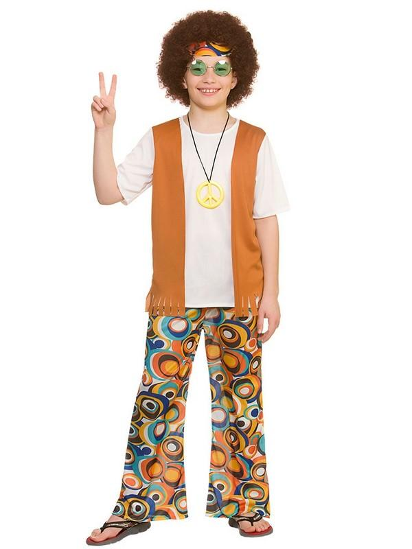 Child Cool Hippie Costume