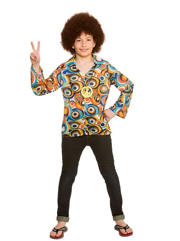 Child Retro Hippie Shirt Set