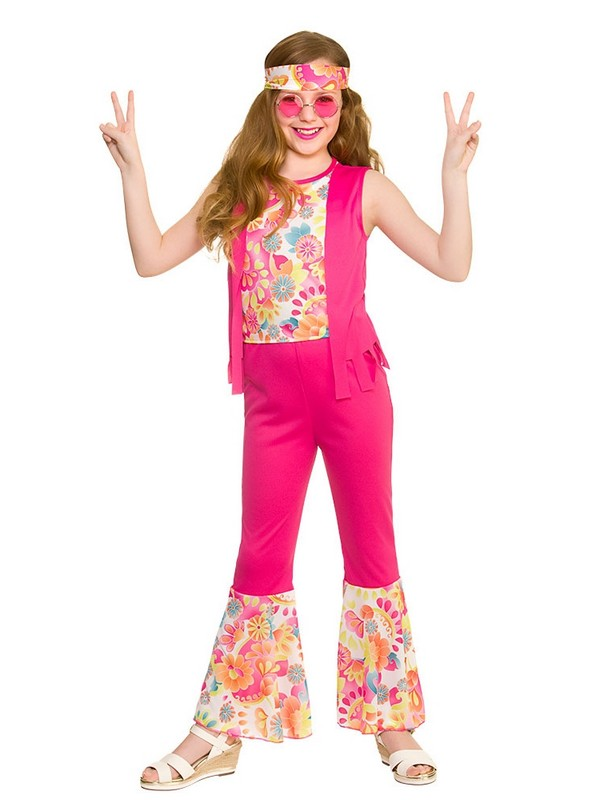 Child Groovy Hippie Costume