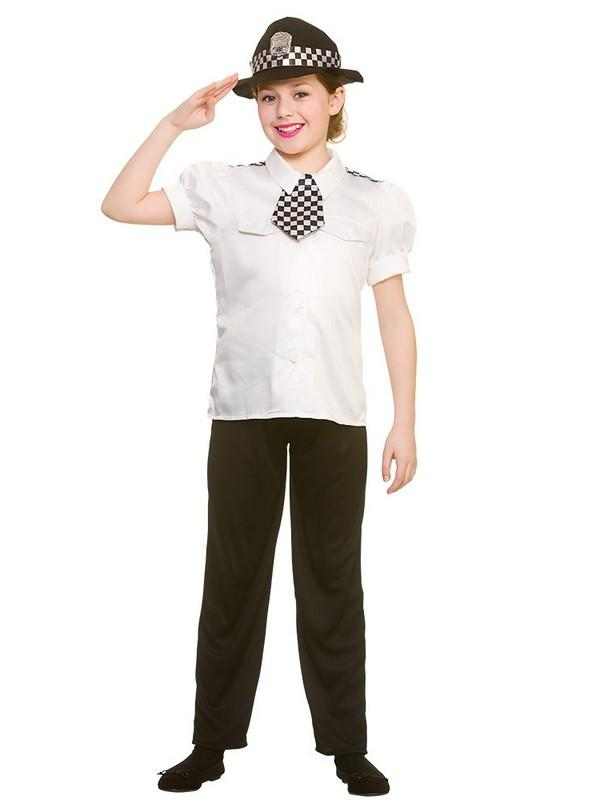 Child Policewoman Costume