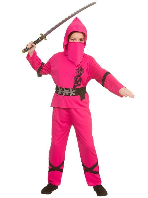 Child Power Ninja Pink Costume