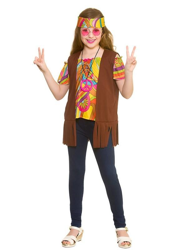 Child Cool Hippie Set Costume