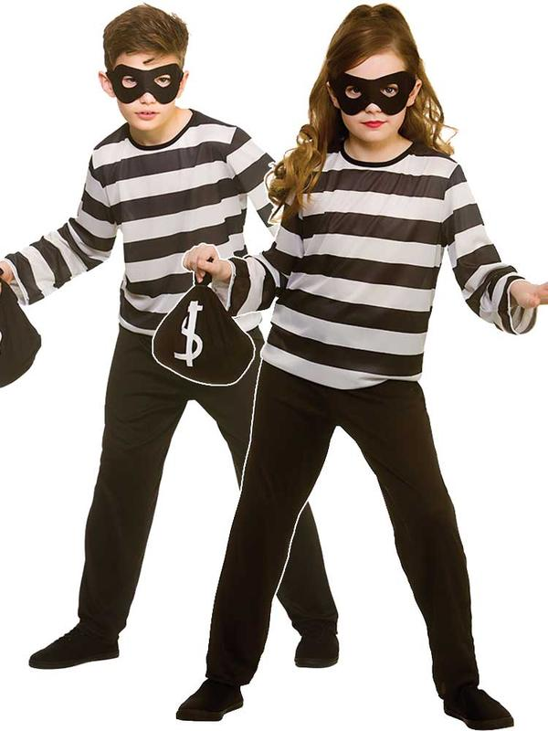 Child Sneaky Robber Costume Thumbnail 1