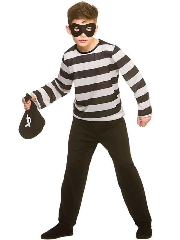 Child Sneaky Robber Costume Thumbnail 2