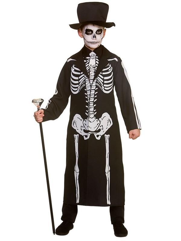 Child Boys Day Of The Dead Skeleton Costume