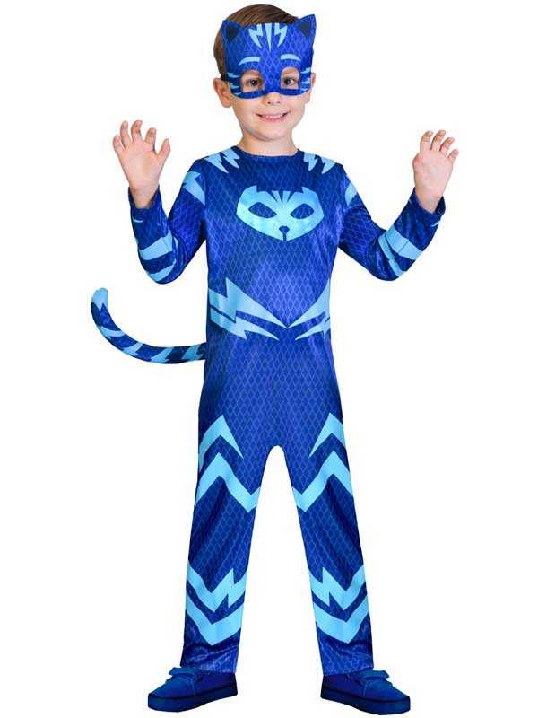 Official UK PJ Masks Boys Catboy Superhero Kids Child New Fancy Dress Costume