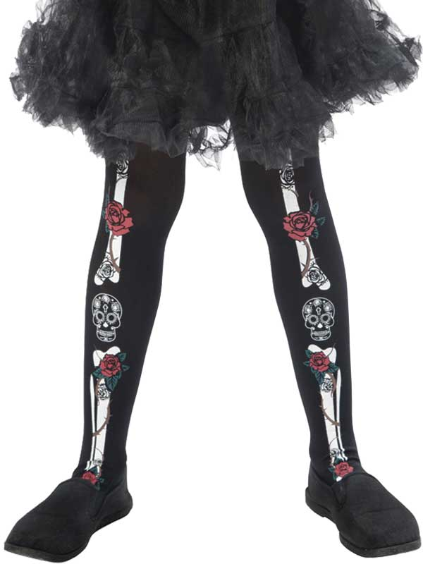 Girls Day Of The Dead Tights