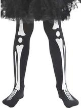 Girls Skeleton Tights