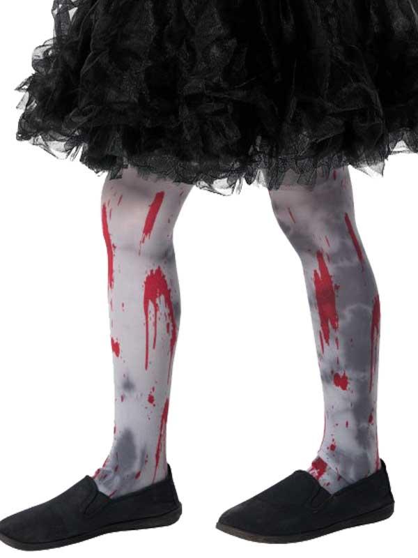 Girls Zombie Dirt Tights