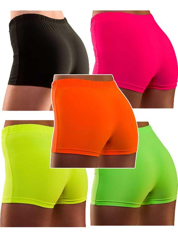 Neon Hot Pants