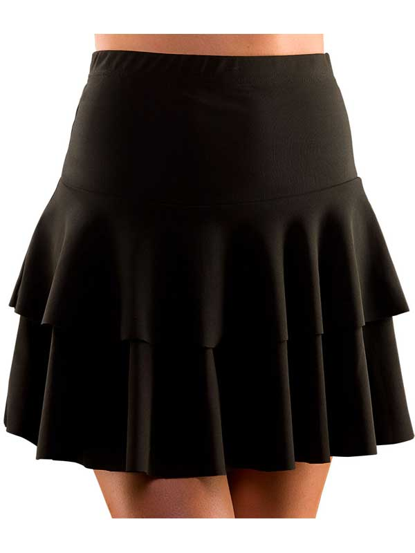 80s Retro Neon Ra Ra Skirt Fancy Dress Hen Party Punk Mod