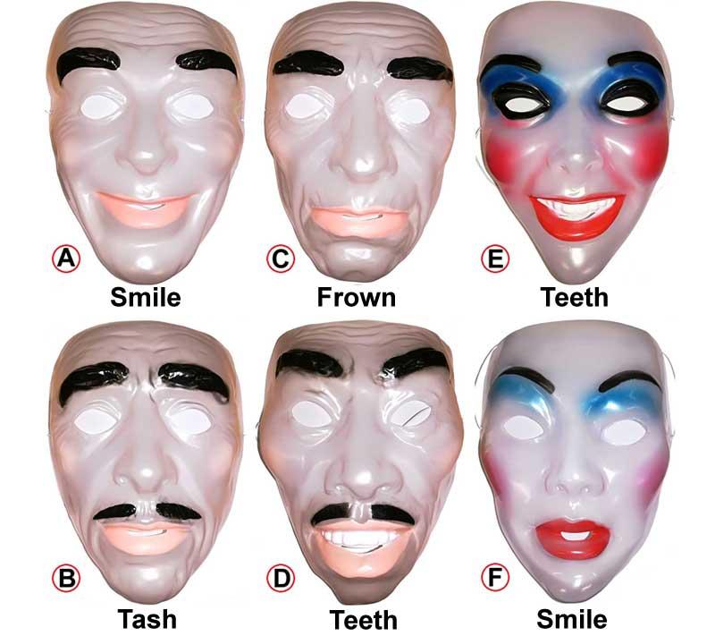 Adult Transparent Mask