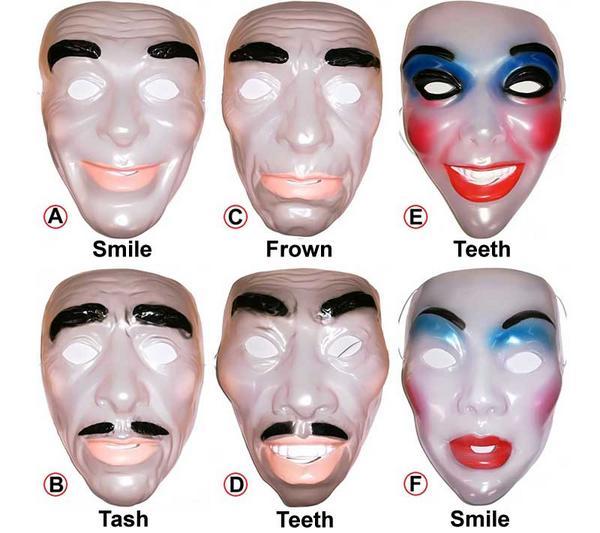 Adult Transparent Mask Thumbnail 1