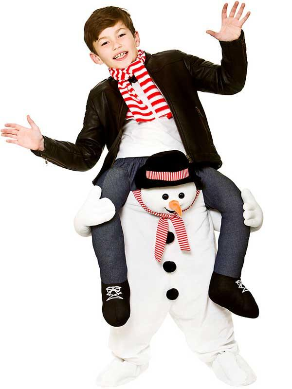 Child Carry Me® Snowman Costume