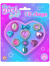 10pc Ring Set