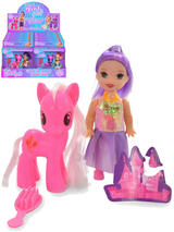 Pony And Doll Playset