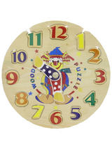 Clock Wooden Puzzle