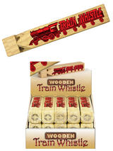 Wooden Train Sound Whistle