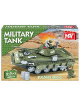 Army Tank Brickset