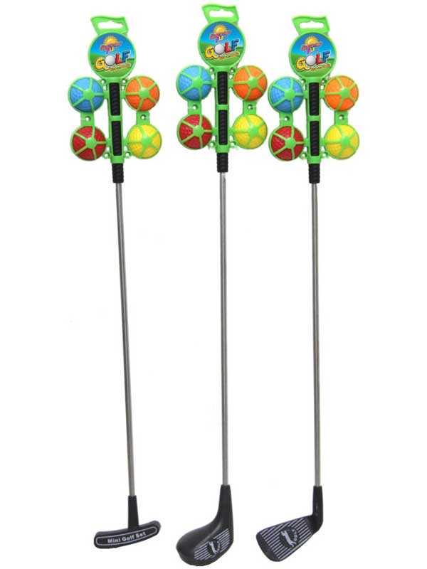 "24"" Golf Club & 4 Balls (Assorted)"