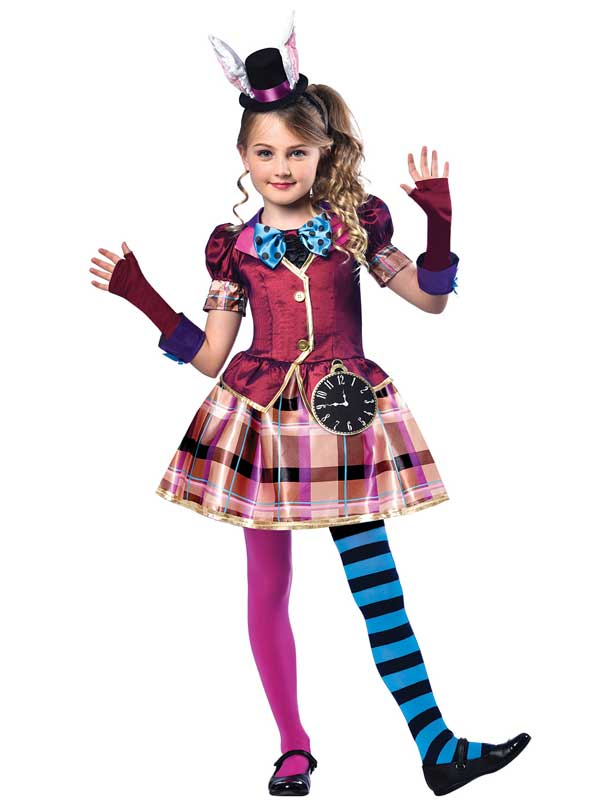 Alice in Wonderland childrens girls costume sizes 4-10yrs