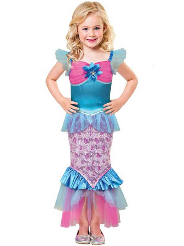 Child Sparkle Of The Sea Costume