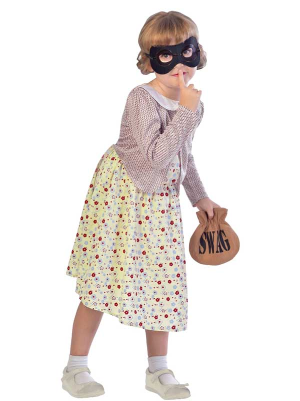 Child Gangster Granny Costume