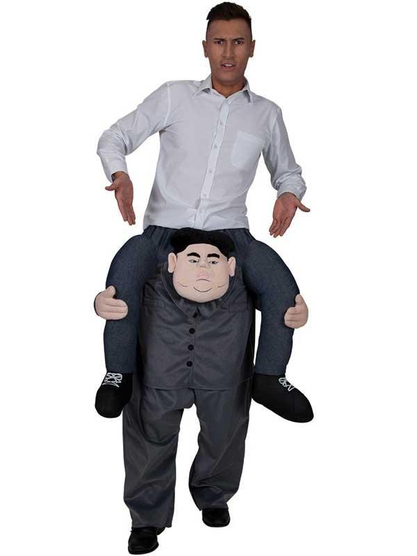 Adult Carry Me Supreme Leader Kim Jong Un Costume