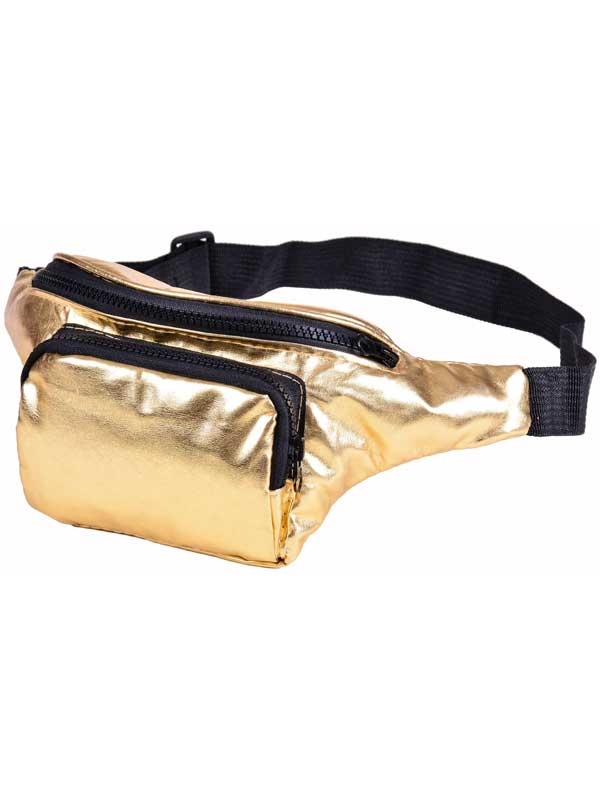 Adult Bum Bag - Gold
