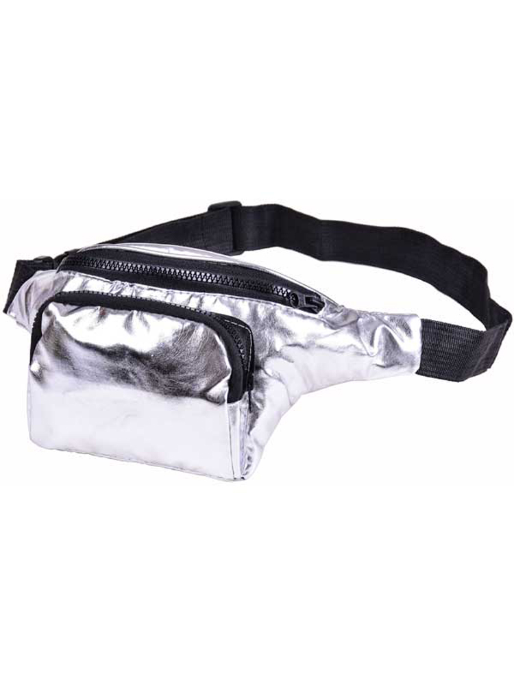 Adult Bum Bag - Silver