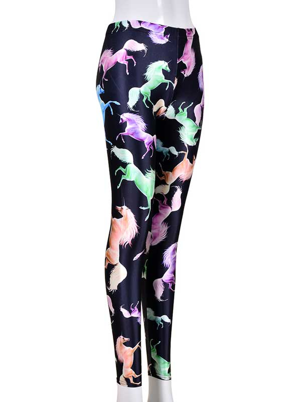 Ladies Unicorn Leggings