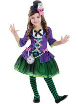 Child Mad Bad Hatter Costume