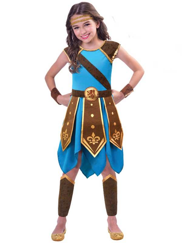 Child Wondrous Warrior Costume