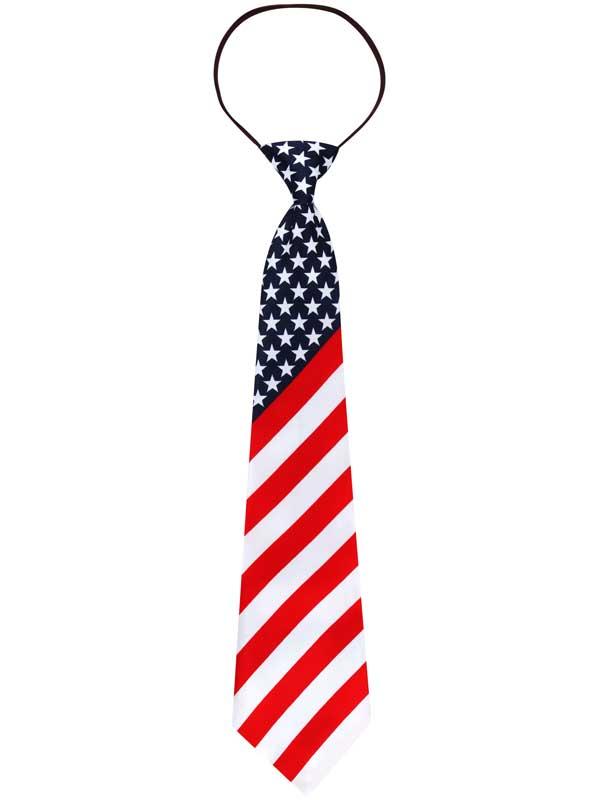 USA Stars & Stripes Tie